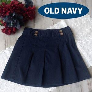 💙Pleated uniform skirt for girls in navy blue